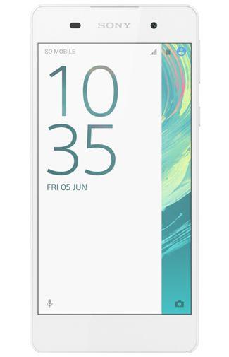 Productafbeelding van de Sony Xperia E5 White