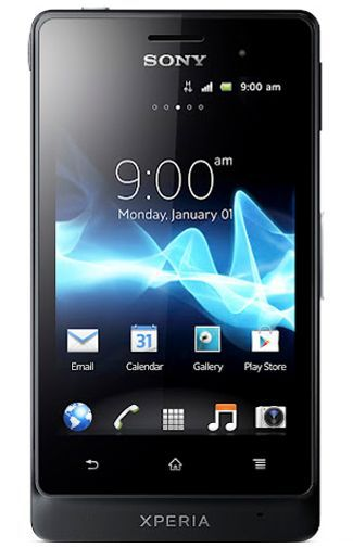 Productafbeelding van de Sony Xperia Go Black