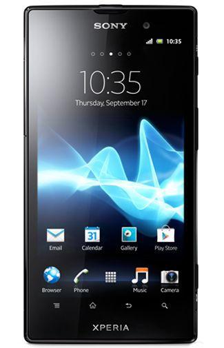 Productafbeelding van de Sony Xperia Ion 4G Black