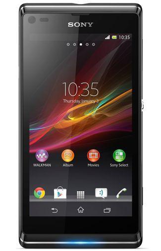 Productafbeelding van de Sony Xperia L Black