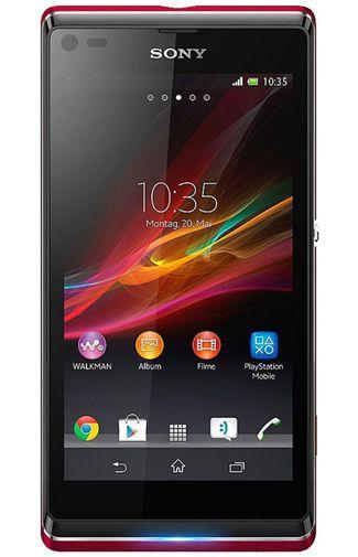 Productafbeelding van de Sony Xperia L Red