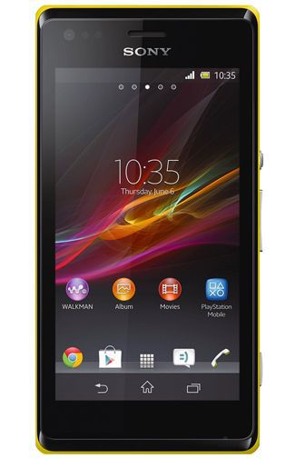 Productafbeelding van de Sony Xperia M Yellow