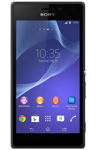 Productafbeelding van de Sony Xperia M2 Black