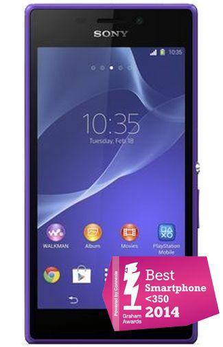 Productafbeelding van de Sony Xperia M2 Purple