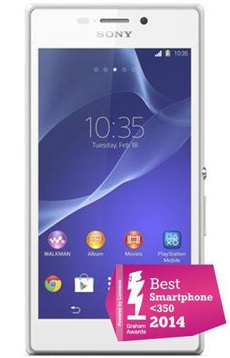 Productafbeelding van de Sony Xperia M2 White