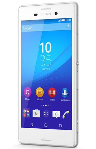 Productafbeelding van de Sony Xperia M4 Aqua White