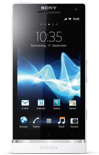 Productafbeelding van de Sony Xperia S White