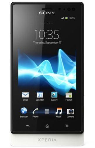Productafbeelding van de Sony Xperia Sola White