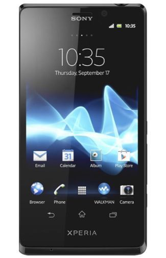 Productafbeelding van de Sony Xperia T Black
