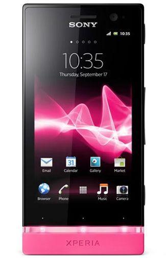 Productafbeelding van de Sony Xperia U Black Pink