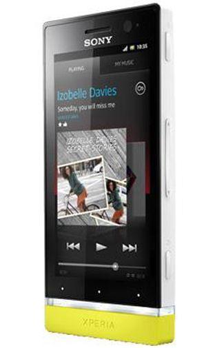 Productafbeelding van de Sony Xperia U White Yellow