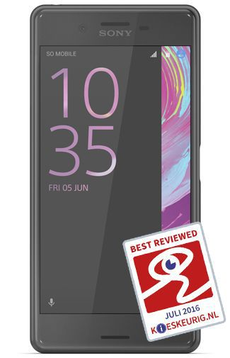 Productafbeelding van de Sony Xperia X Performance Black