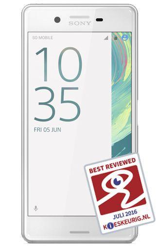 Productafbeelding van de Sony Xperia X Performance White