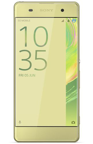 Productafbeelding van de Sony Xperia XA Lime Gold