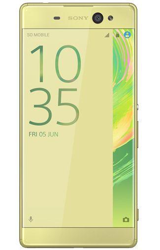 Productafbeelding van de Sony Xperia XA Ultra Lime Gold
