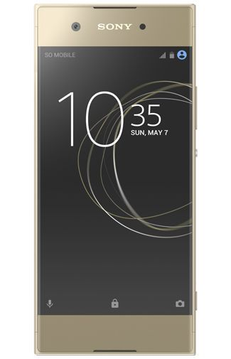 Productafbeelding van de Sony Xperia XA1 Gold