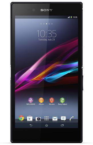 Productafbeelding van de Sony Xperia Z Ultra Black