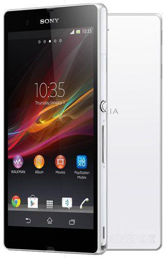 Productafbeelding van de Sony Xperia Z White T-Mobile