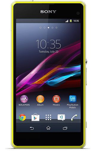 Productafbeelding van de Sony Xperia Z1 Compact Lime