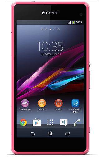 Productafbeelding van de Sony Xperia Z1 Compact Pink