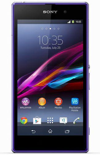 Productafbeelding van de Sony Xperia Z1 Purple