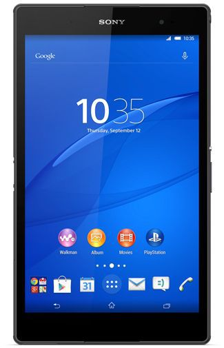Productafbeelding van de Sony Xperia Z3 Tablet Compact WiFi 16GB Black