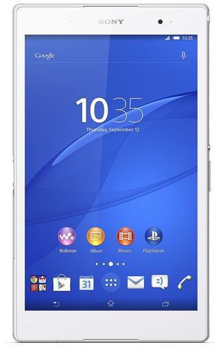 Productafbeelding van de Sony Xperia Z3 Tablet Compact WiFi + 4G 16GB White