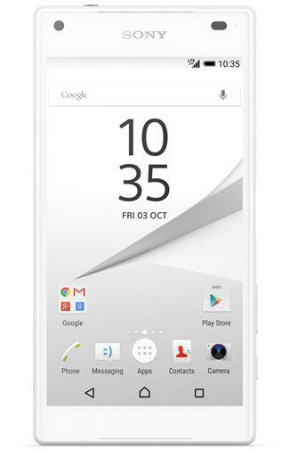 Productafbeelding van de Sony Xperia Z5 Compact White