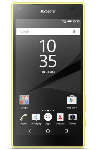 Productafbeelding van de Sony Xperia Z5 Compact Yellow