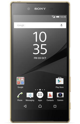 Productafbeelding van de Sony Xperia Z5 Gold