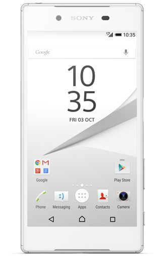 Productafbeelding van de Sony Xperia Z5 White