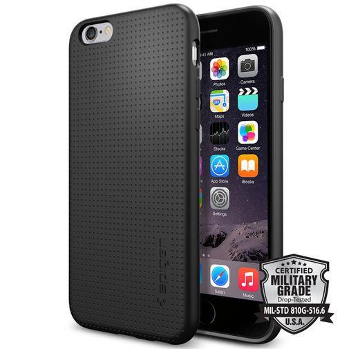 Productafbeelding van de Spigen Capsule Case Black Apple iPhone 6/6S