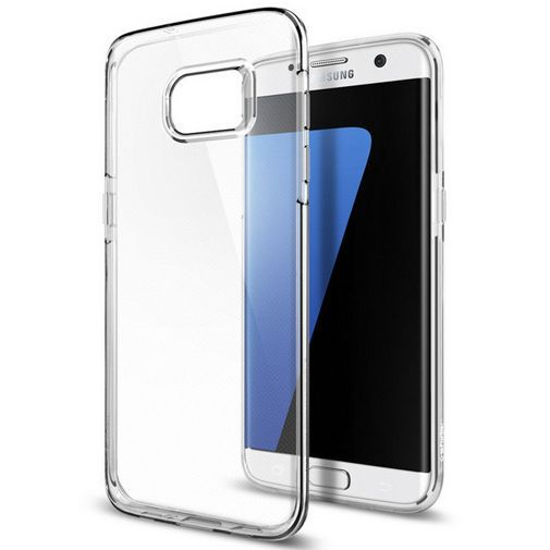 Productafbeelding van de Spigen Liquid Crystal Case Clear Samsung Galaxy S7 Edge