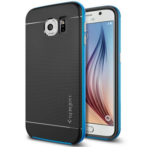 Productafbeelding van de Spigen Neo Hybrid Case Electric Blue Samsung Galaxy S6