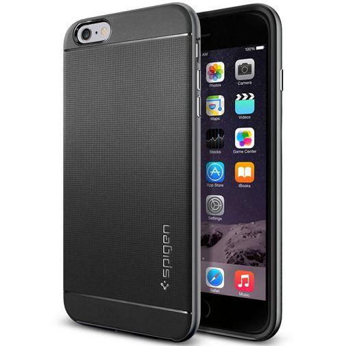 Productafbeelding van de Spigen Neo Hybrid Case Gunmetal Apple iPhone 6 Plus/6S Plus