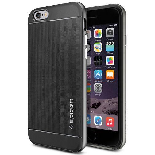 Productafbeelding van de Spigen Neo Hybrid Case Gunmetal Apple iPhone 6/6S