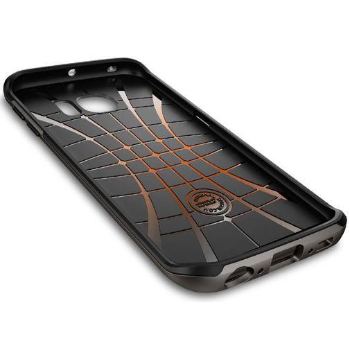Productafbeelding van de Spigen Neo Hybrid Case Gunmetal Samsung Galaxy S6 Edge