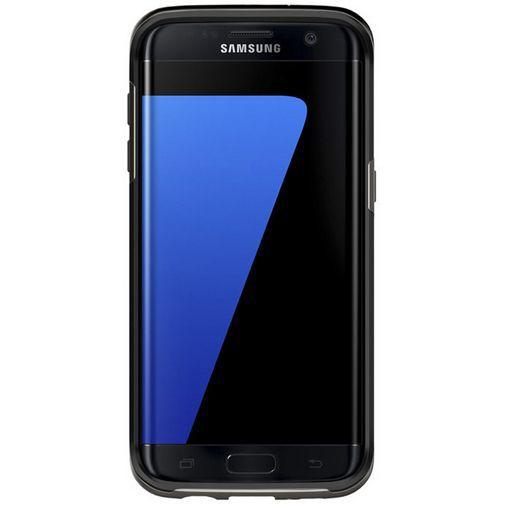 Productafbeelding van de Spigen Neo Hybrid Case Gunmetal Samsung Galaxy S7 Edge