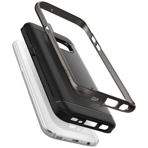 Productafbeelding van de Spigen Neo Hybrid Case Gunmetal Samsung Galaxy S7