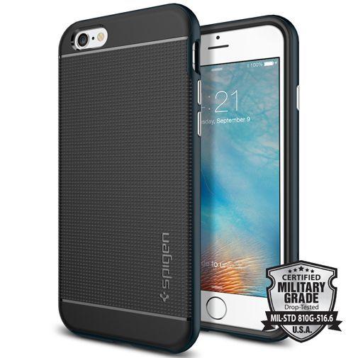 Productafbeelding van de Spigen Neo Hybrid Case Metal Slate Apple iPhone 6/6S
