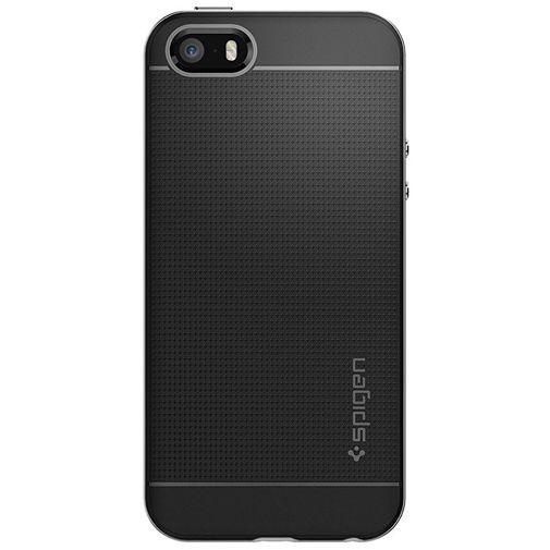 Productafbeelding van de Spigen Neo Hybrid Case Satin Silver Apple iPhone 5/5S/SE