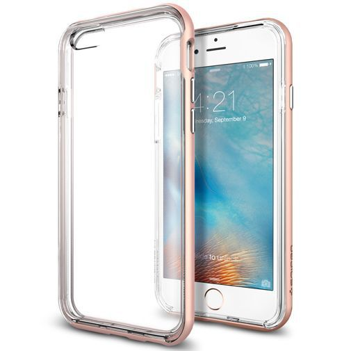 Productafbeelding van de Spigen Neo Hybrid Ex Case Pink Apple iPhone 6/6S