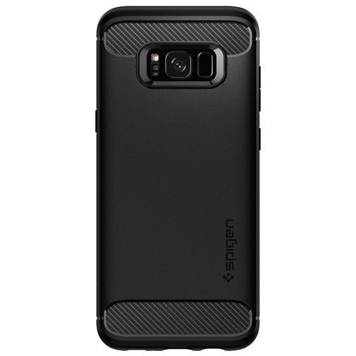 Productafbeelding van de Spigen Rugged Armor Case Black Samsung Galaxy S8