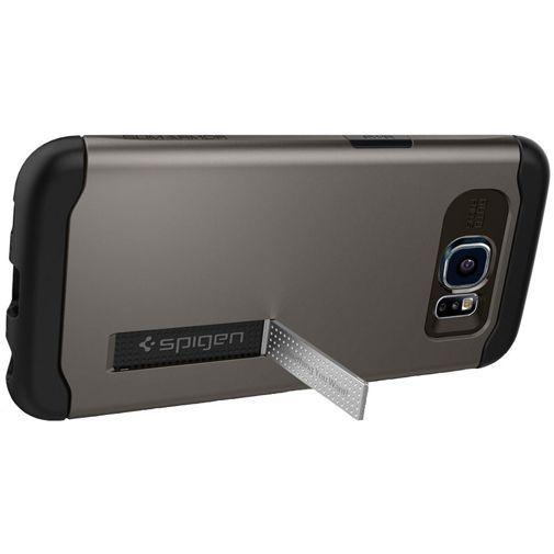 Productafbeelding van de Spigen Slim Armor Case Gunmetal Samsung Galaxy S6