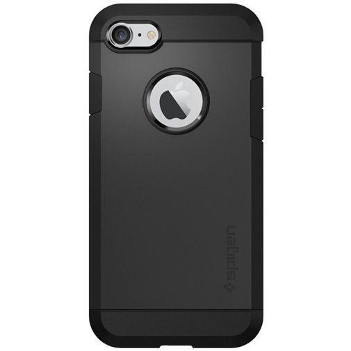 Productafbeelding van de Spigen Tough Armor Case Black Apple iPhone 7/8