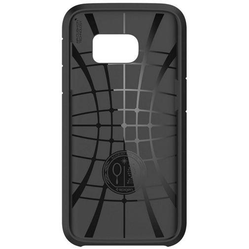 Productafbeelding van de Spigen Tough Armor Case Black Samsung Galaxy S7