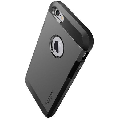 Productafbeelding van de Spigen Tough Armor Case Gunmetal Apple iPhone 6/6S