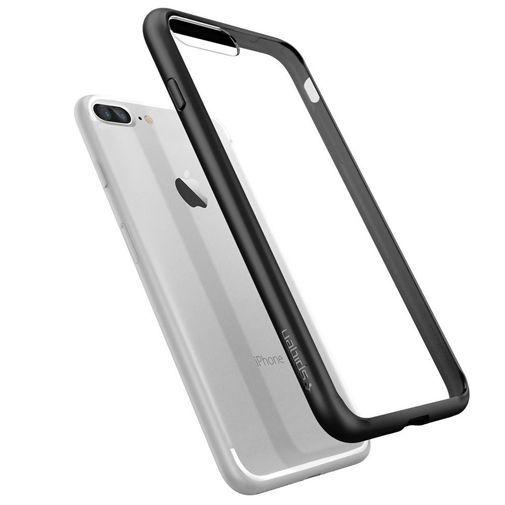 Productafbeelding van de Spigen Ultra Hybrid Case Black Apple iPhone 7/8