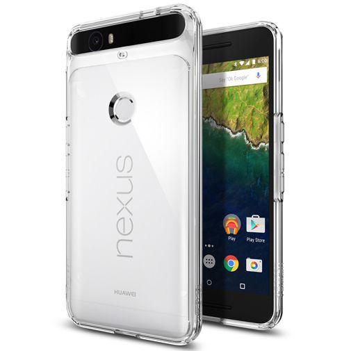 Productafbeelding van de Spigen Ultra Hybrid Case Crystal Clear Huawei Nexus 6P