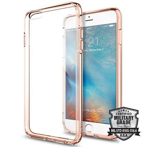 Productafbeelding van de Spigen Ultra Hybrid Case Rose Crystal Apple iPhone 6 Plus/6S Plus